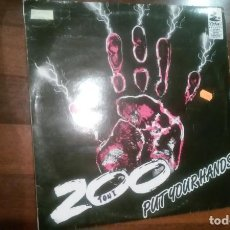 Dischi in vinile: ZOO-PUT YOUR HANDS.MAXI. Lote 154013442