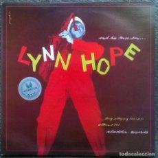 Discos de vinilo: LYNN HOPE AND HIS TENOR SAX. ALADDIN, FRANCE 1983 LP. Lote 154018406