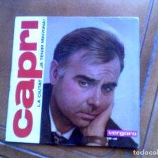 Discos de vinilo: DISCO DE JOAN CAPRI - LA CIUTAT Y JA TENIM MINYONA. Lote 154019906