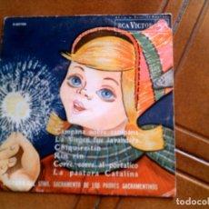Discos de vinilo: DISCO DE VILLANCICOS AÑO 1963 INCLUYE 6 VILLANCICOS. Lote 154022522