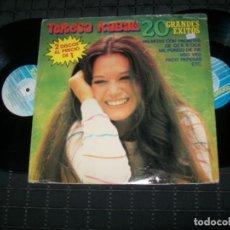 Discos de vinilo: TERESA RABAL - 20 GRANDES EXITOS - 2 LP´S - DE FONOMUSIC - MUY RARO EN VINILO .. LIMITADO . 1984. Lote 154026682