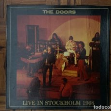 Discos de vinilo: THE DOORS ?– LIVE IN STOCKHOLM 1968 SELLO: THE SWINGIN' PIG ?– TSP-004-3 FORMATO: 3 × VINYL, LP. Lote 134854058