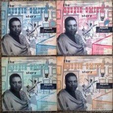 Discos de vinilo: THE BESSIE SMITH STORY VOL. 1, 2, 3 Y 4. PHILIPS, HOLLAND 1956 4LP SET ORIGINAL (B 07002/5). Lote 154094486