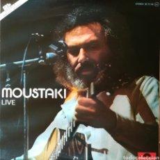 Discos de vinilo: DISCO GEORGES MOUSTAKI. Lote 154103157