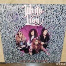Discos de vinilo: WHITE LION - LIGHTS & THUNDER - SINGLE DEL SELLO ATLANTIC 1991. Lote 154106314
