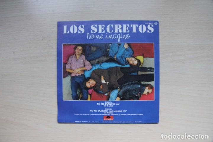 Discos de vinilo: Los Secretos – No Me Imagino - polydor 1983 - Foto 2 - 154114918