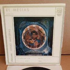 Discos de vinilo: HANDEL / EL MESIAS / EP - PHILIPS-1963 / MBC. ***/***. Lote 154119514