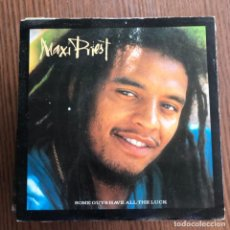 Discos de vinilo: MAXI PRIEST - SOME GUYS HAVE ALL THE LUCK / FESTIVAL TIME - SINGLE 10 RECORDS UK 1987 . Lote 154126266