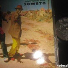 Discos de vinilo: THE INDESTRUCTIBLE BEAT OF SOWETO -( SOÑUA 1986) OG ESPAÑA. Lote 154136190