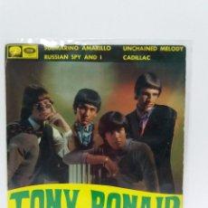 Discos de vinilo: EP ** TONY RONALD ** SUBMARINO AMARILLO-UNCHAIN MELODY **COVER/ VG+ / EXCELLENT * EP/ VG+/ EX *1966. Lote 154168506