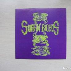 Discos de vinilo: SURFIN' BICHOS – VIVE EL PELIGRO - LA FABRICA MAGNETICA 1990 PROMO. Lote 154168918