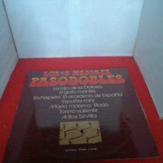 Discos de vinilo: LOS 6 MEJORES PASODOBLES. Lote 154170588