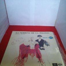 Discos de vinilo: LA VERBENA DE LA PALOMA TOMÁS BRETÓN. Lote 154173802