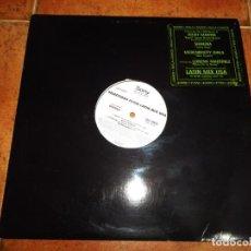 Discos de vinilo: SHAKIRA ESTOY AQUI REMIX USA MAXI SINGLE VINILO PROMO 1995 RICKY MARTIN LORENA MARTINEZ MUY RARO. Lote 154176530