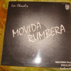 Discos de vinilo: LOS CHAVOLIS. MOVIDA RUMBERA. PHILIPS, 1985. IMPECABLE (#). Lote 154179618