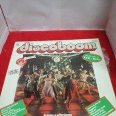 Discos de vinilo: DISCO BOOM ANUNCIADO EN TV Y RADIO. Lote 154180800