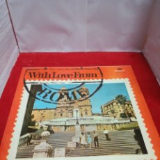 Discos de vinil: WITH LOVE FROM ROME. Lote 154183402