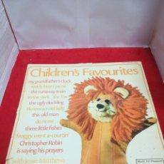 Discos de vinilo: CHILDREN'S FAVORITES. Lote 154185757