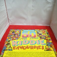 Discos de vinilo: MORE THAN 50 ALL TIME KIDDIE FAVOURITES. Lote 154188522