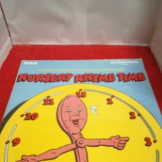 Discos de vinilo: NURSERY RHYME TIME. Lote 154188782