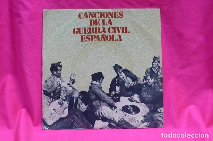 CANCIONES DE LA GUERRA CIVIL ESPAÑOLA, 1978. (Música - Discos - Singles Vinilo - Otros estilos)