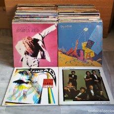 Discos de vinilo: SUPER LOTE 152 LP`S DISCOS DE VINILO 33.RPM VARIOS ARTISTAS Y ESTILOS (VER IMAGENES). Lote 154189770