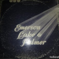 Discos de vinilo: EMERSON, LAKE & PALMER - WELCOME BACK TRIPLE LP - ORIGINAL ESPAÑOL - MANTICORE 1974 TRIFOLD COVER -. Lote 154195066