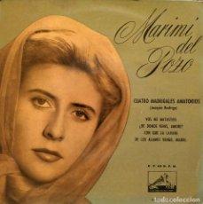 Discos de vinilo: MARIMI DEL POZO - CUATRO MADRIGALES AMATORIOS DEL MAESTRO JOAQUIN RODRIGO EP SPAIN 1958 EX / EX. Lote 154195422