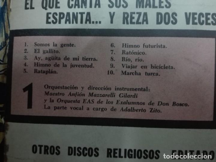 Discos de vinilo: CANTOS DE CAMPAMENTO (PACK CON 4 DISCOS) - Foto 6 - 52481733