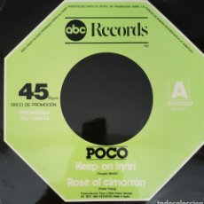 Discos de vinilo: POCO MAXI-SINGLE SELLO ABC RECORDS EDITADO EN ESPAÑA AÑO 1977. Lote 154198494