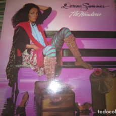 Discos de vinilo: DONNA SUMMER - THE WANDERER LP - ORIGINAL U.S.A. - GEFFEN RECORDS 1980 CON FUNDA INT. MUY NUEVO (5). Lote 154201558
