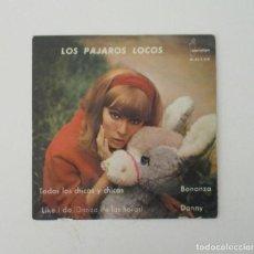 Discos de vinilo: LOS PAJAROS LOCOS. Lote 154202714