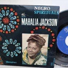 Discos de vinilo: MAHALIA JACKSON - EP SPAIN PS - NEGRO SPIRITUALS - IN THE UPPER ROOM - DISCOPHON 27.003. Lote 154205934