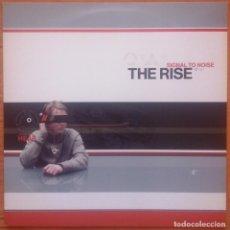 Discos de vinilo: THE RISE - SIGNAL TO NOISE (LP VINILO). Lote 154208626