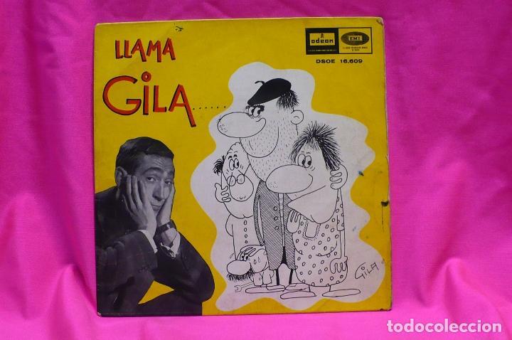 LLAMA GILA -- AL MAESTRO, A TERESA, A PEPE, AL INVENTOR, EMI ODEON 1964. (Música - Discos de Vinilo - EPs - Otros estilos)