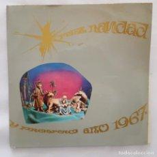 Discos de vinilo: SINGLE/FELIZ NAVIDAD Y UN PROSPERO AÑO 1967/LA PASTORA CATALINA/FUM, FUM, FUM/NOVOLA-IBEROFON-ZAFIRO. Lote 154212826