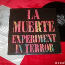 Discos de vinilo: LA MUERTE - EXPERIMENT IN TERROR ...LP DE A PLAY IT AGAIN RECORDS - PUNK-HARD CORE - HOLLAND. Lote 154214382