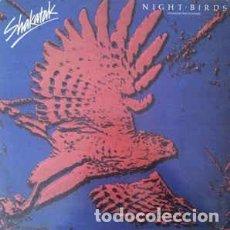 Discos de vinilo: SHAKATAK - NIGHT BIRDS = PAJAROS NOCTURNOS (12, MAXI) LABEL:POLYDOR CAT#: 21 41 502 . Lote 154222174