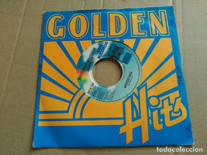 7'' MATTHEWS SOUTHERN COMFORT - WOODSTOCK / BALLAD OF OBRAY RAMSEY - RE UK 1981 VG+ (Música - Discos - Singles Vinilo - Country y Folk)