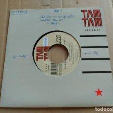 Discos de vinilo: SINGLE SILVER BULLET - 20 SECONDS TO COMPLY - TAM TAM RECORDS UK 1989 VG+. Lote 154231098