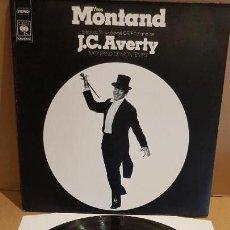 Discos de vinilo: YVES MONTAND / MONTAND DE MON TEMPS / LP GATEFOLD-CBS-FRANCE-1974 / MBC. ***/***. Lote 154232482