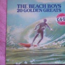 Discos de vinilo: THE BEACH BOYS,20 GOLDEN GREATS EDICION EDICION INGLESA. Lote 154232502