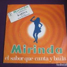 Disques de vinyle: KARINA SG MIRINDA Nº1 1971 - TU Y YO/ YO TE SE PERDONAR - . Lote 154252306