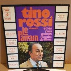 Discos de vinilo: TINO ROSSI CHANTE LE PARRAIN / LP - COLUMBIA-EMI / MBC. ***/***. Lote 154264830