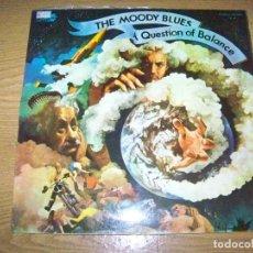 Discos de vinilo: LP THE MODDY BLUES A QUESTION OF BALANCE SPAIN. Lote 154265642