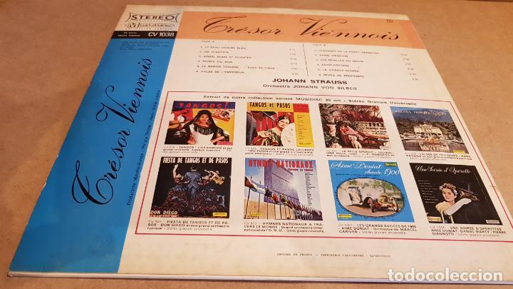 Discos de vinilo: ORCHESTRE JOHANN VON SILBER / TRÉSOR VIENNOIS / LP-MUSIDISC / MBC. ***/*** - Foto 2 - 154270234