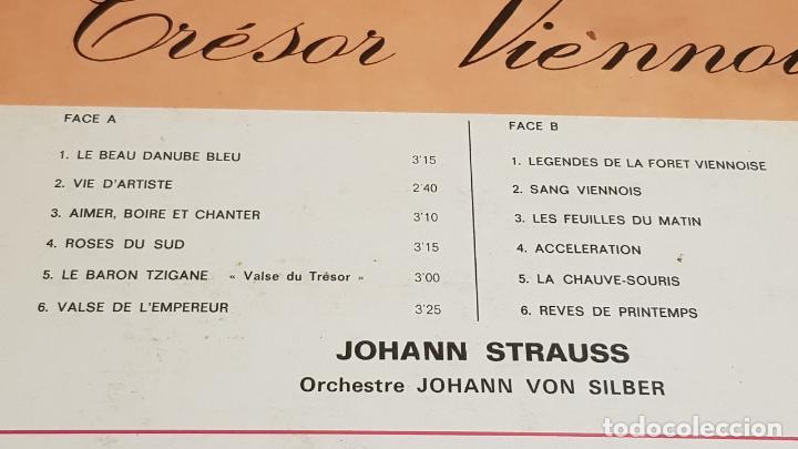 Discos de vinilo: ORCHESTRE JOHANN VON SILBER / TRÉSOR VIENNOIS / LP-MUSIDISC / MBC. ***/*** - Foto 3 - 154270234