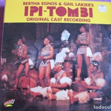 Discos de vinilo: LP - IPI-TOMBI - ORIGINAL CAST RECORDING (BERTHA EGNOS AND GAIL LAKIER'S) (DOBLE DISCO, GALAXY 1975). Lote 154302698