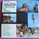 Discos de vinilo: LP - GALICIA - CANTIGAS DA TERRA (SPAIN, HISPAVOX 1966). Lote 154304070