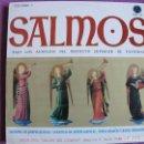 Discos de vinilo: LP - SALMOS - ESCOLANIA VIRGEN DEL CAMINO DE LOS PP. DOMINICOS DE LEON (DISCOSTECA PAX 1961. Lote 154304678